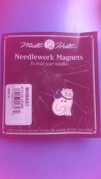 Needlework Magnet Kitty Cat MHMAG7 / Магнит Кошка Китти