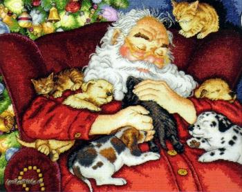 Santa s Nap 70-08836 / Сон Санты