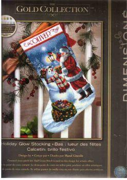 Holiday Glow Stocking 70-08952 / Сапожок Рождественское сияние
