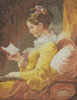 Kit Girl Reading 45461 / Читающая девушка