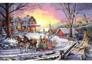 Pleasures Of Winter 35208 / Удовольствия Зимы