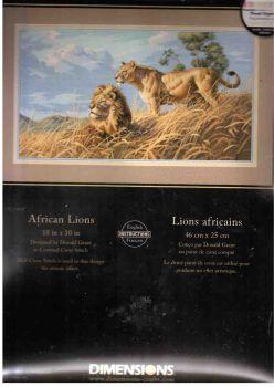 African Lions 3866 / Африканские львы