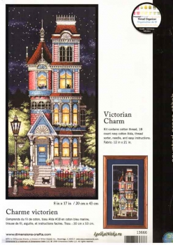 Victorian Charm 13666 / Викторианский шарм