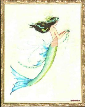 Mermaid Azure NC-190 / Русалочка Лазурь