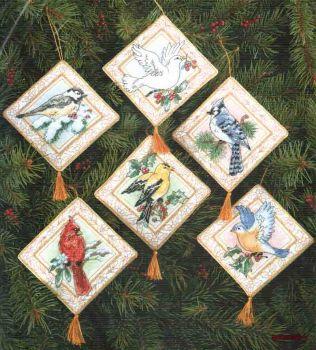 Winged Elegance Ornaments 8642 / Орнаменты Крылатая элегантность