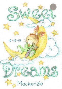 Sweet Dreams Birth Record 70-73923 / Детская метрика Сладкие сны