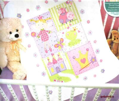 Fairy Quilt 70-73541 / Детское одеяло Фея