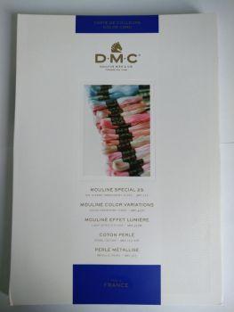 Живая карта цветов DMC (обновленная)
