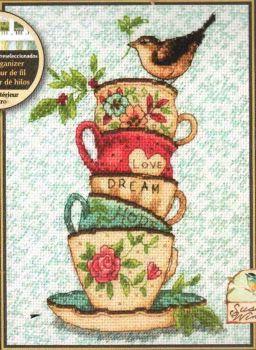 Stacked Tea Cups 70-65171 / Чайные чашечки