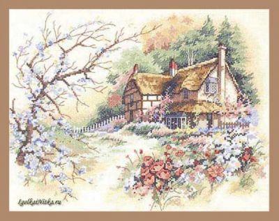 Cottage Enchantment 013687 / Очаровательный коттедж