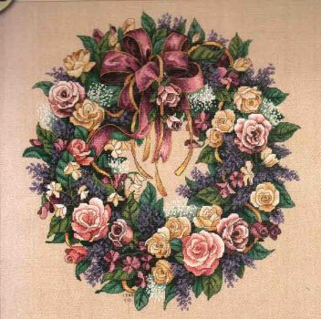 Wreath of Roses 70-003837 / Венок из роз