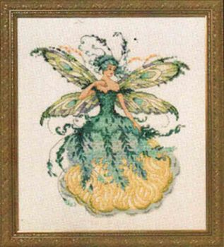 March Aquamarine Fairy MD-159 / Мартовская аквамаринская фея (схема)