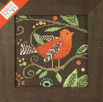 Orange Bird DM30-1813 / Оранжевая птица