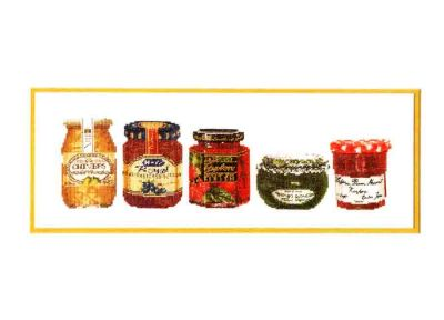 Jam Jars 3047 / Баночки с джемом