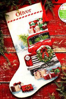 Santas Truck Stocking 70-08986 / Сапожок Грузовик Санты