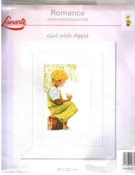 Lanarte Girl with apple 21200 / Девочка с яблоком