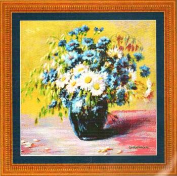 Blooms of blue 98897 / Цветение синим