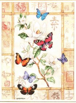 Brilliant Butterfly Celebration  35063 / Сверкающие бабочки