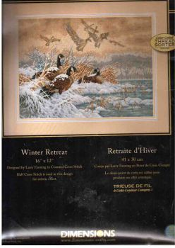 Winter Retreat 35205 / Зимний перелет