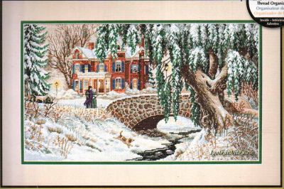 Winter Lace 35111/ Зимние кружева (США)