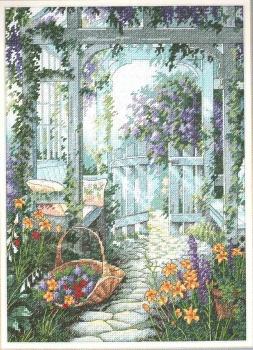 Garden Gate 13692 / Садовая калитка