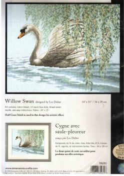 Willow Swan 35231 / Лебедь в ивняке