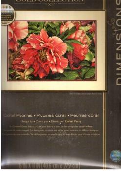 Coral Peonies 70-35298 / Коралловые пионы