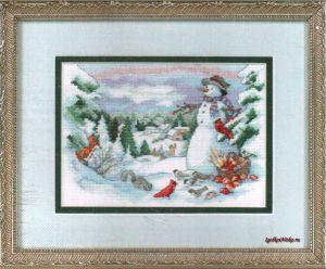 Friends of the Snowman 8697 / Друзья снеговика