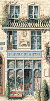 French Flower Shop 13704 / Французский Цветочный Магазин