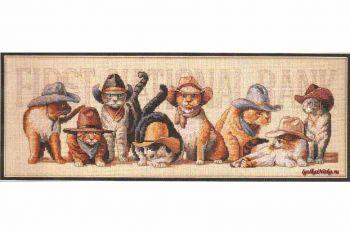 Cowboy Cats 7939 / Коты Ковбои