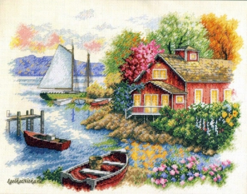 Peaceful Lake House 35230 / Домик у озера