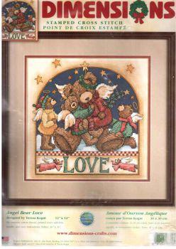 Angel Bear Love 8710 / Любовь Мишек-ангелов