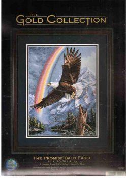 The Promise - Bald Eagle 35020 / Радуга и Парящий Орел