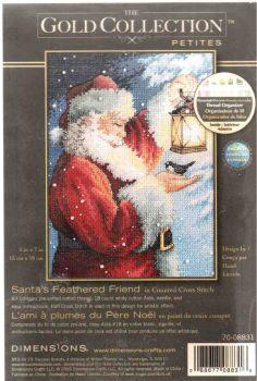 Santa s Feathered Friend 70-08831 / Пернатый друг Санты