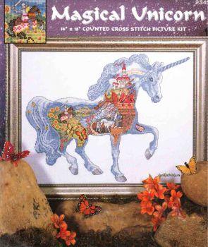 Magical Unicorn 2345 / Сказочный Единорог