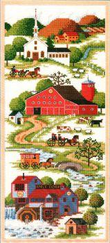 Peaceful Countryside 3739 / В Тихой Сельской местности