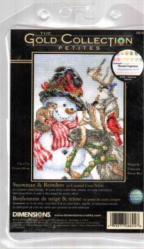 Snowman and Reindeer 8824 / Снеговик и Олень