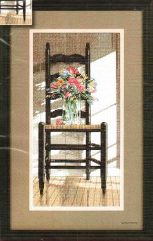 Floral Chair 79060 / Стул с Цветами