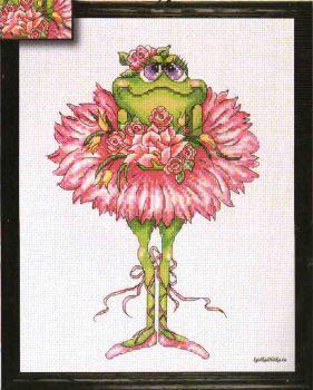 Frog Bouquet 2756 / Лягушка с Цветами