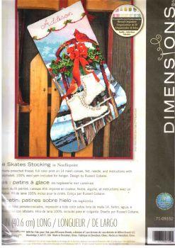 Ice skates stocking 71-09152 / Сапожок Коньки