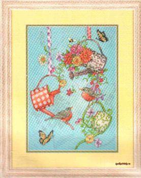 Blooming Watering Cans 70-03246 / Лейки с Цветами