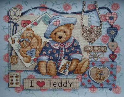 I Love Teddy 3863 / Я Люблю Тедди