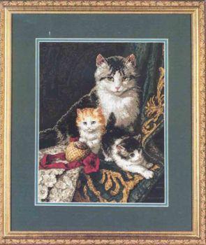 Captivating Felines 3818 / Мягкие Лапки