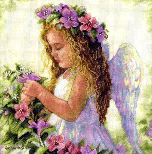 Passion Flower Angel 35229 / Девочка-цветочный ангел