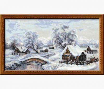 Риолис 100/002  Зимняя деревня