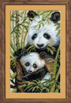Панда с детёнышем 1159