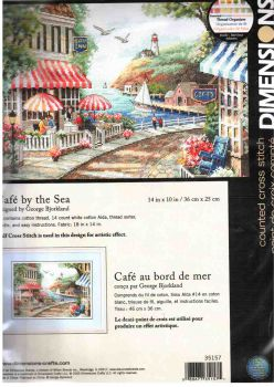 Cafe by the Sea 35157 / Кафе у моря