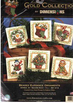 Beaded Elegance Ornaments 8704 / Элегантная гирлянда с бисером