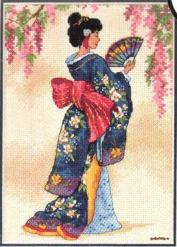 Elegant Geisha 6953 / Элегантная Гейша