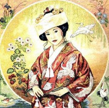 Japanese Maiden 35109 / Японская дева